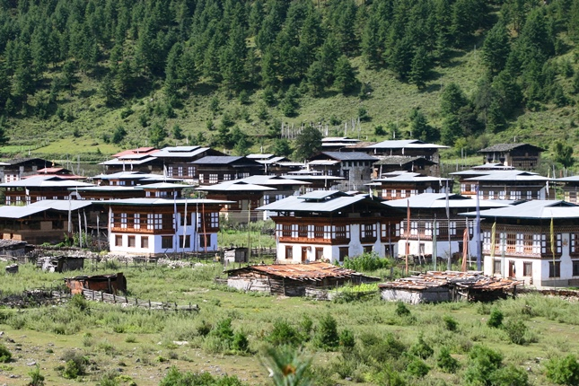 Cluster of Traditional Houses in Haa