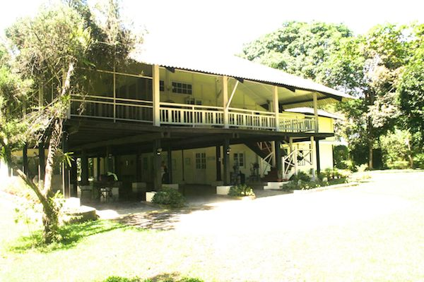 Mancotta Chang Bungalow at the outskirt of Dibrugarg Town in upper Assam.