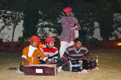 Local Rajasthani Artist